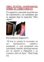TRES PUNTOS, SUSPENSIVOS, SOBRE EL LIBRO ... - Boek 861