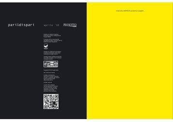 pari&dispari - FINEZZA design