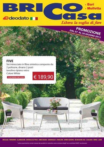 promozione 25 Aprile 26 Maggio 2013 - Brico-Casa.it