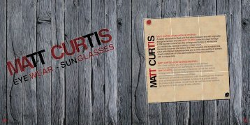 MATT CURTIS «FOR VINTAGE PEOPLE» Clin d'oeil au Rock and ...