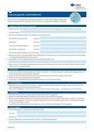 Unterweisungshilfe: STEUERBERATUNG - VBG