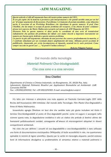 Emo Chiellini Materiali Polim. Oxo-biodegradabili.pdf - AIM