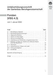 """""""Forsten"""" (VSG 4.3 - VBG"""