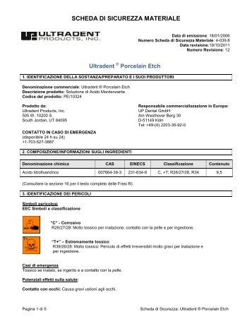 scarica pdf - Ultradent Products, Inc.