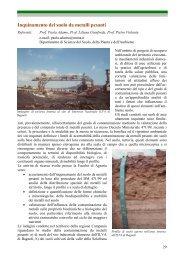 Inquinamento del suolo da metalli pesanti - Facoltà di Agraria