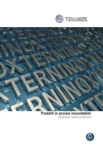 Prodotti in acciaio inossidabile - Terninox SpA