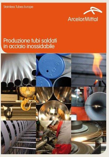 Produzione tubi saldati in acciaio inossidabile - Aperam