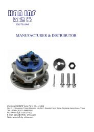 VKBA(wheel bearing kit) series(1)