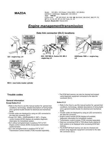 Engine Management  Transmission