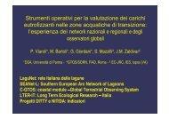 Strumenti operativi per la valutazione dei carichi eutrofizzanti nelle ...