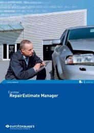 RepairEstimate Manager
