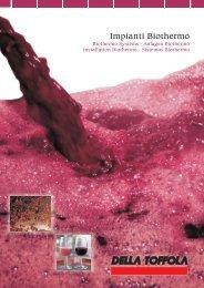 cover Impianti biothermo.cdr - Della Toffola France