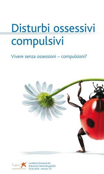Disturbi ossessivi compulsivi