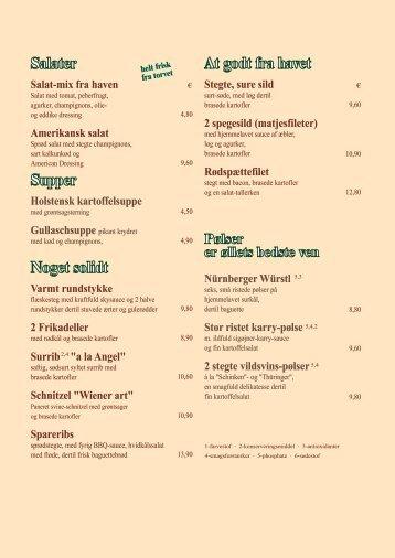 Salater hemasiå At godt fra havet - Hansens Brauerei