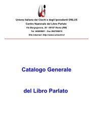 Catalogo nazionale - Associazione Ipertesto