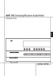 AVR 145 Sintoamplificatore Audio/Video - Harman Kardon