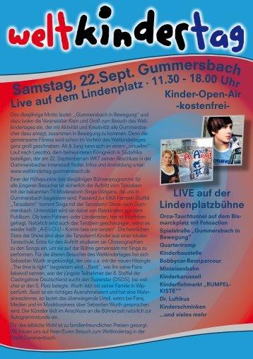 Samstag, 22.Sept. Gummersbach - Sparkasse Gummersbach-Bergneustadt