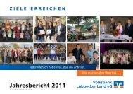 Jahresbericht 2011 der Volksbank Lübbecker Land eG (pdf/4,3 MB)