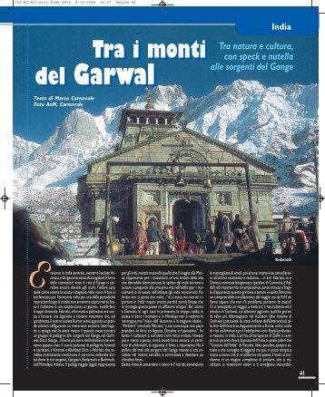 Tra i monti del Garwal - Viaggi Avventure nel mondo