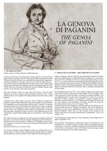 Percorsi e luoghi paganiniani a Genova - Associazione Amici di ...