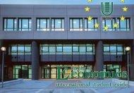 International Guide - Economia - Università degli Studi di Roma Tor ...