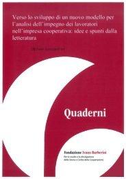 Verso lo sviluppo - Alessandrini - Fondazione Ivano Barberini