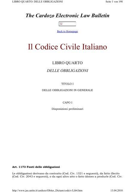 Calendario Datacol 2020.Il Codice Civile Italiano