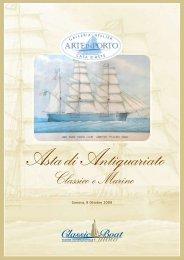 Condizioni di vendita - Arte Navale
