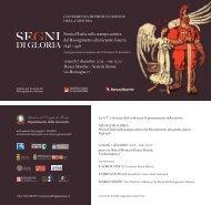 Materiale promozionale - Centro Studi Gabriele Galantara