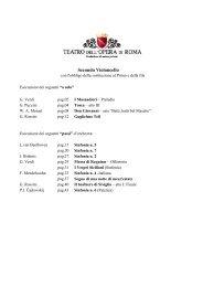 03 Secondo Violoncello passi 2012.pdf - Teatro dell'Opera