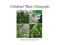 Medicinal Plant Monograph E-Book - Etnobotanica
