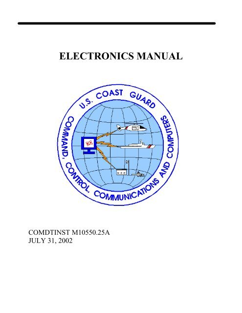 comdtinst m10550.25a - US Coast Guard Response Boat-Medium on
