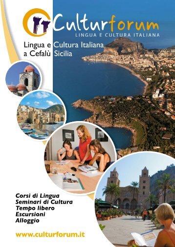 Lingua e Cultura Italiana a Cefalù Sicilia