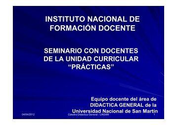 """""""prácticas""""? - dirección de educación superior - Instituto Nacional de ..."""