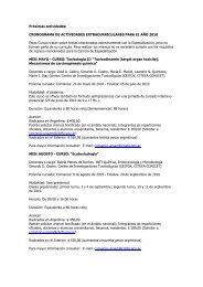 Próximas actividades del año en formato PDF - IntraMed