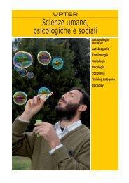 Scienze umane, psicologiche e sociali - Upter Gratis