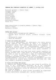 Verbale consiglio direttivo del 2009.10.05.pdf - Lelumachemilano.it