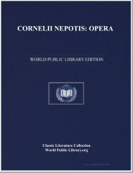 CORNELII NEPOTIS: OPERA - World eBook Library