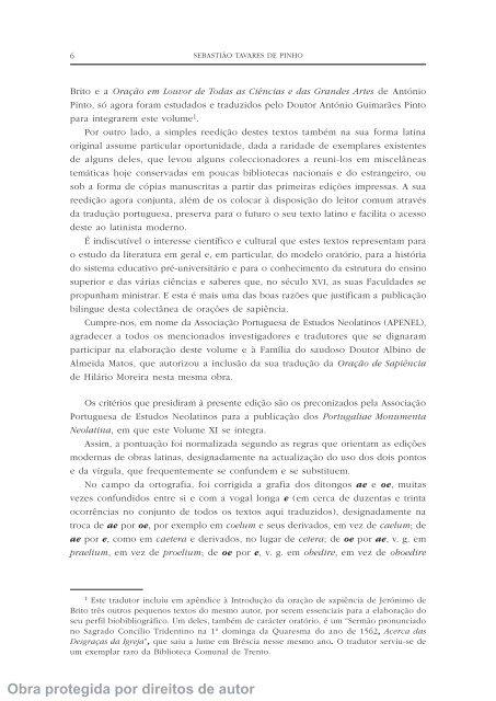 Orações de sapiência - Universidade de Coimbra
