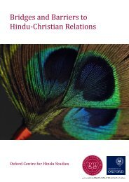 Bridges and Barriers to Hindu-Christian Relations - Presence and ...