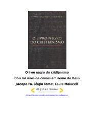 O Livro Negro do Cristianismo - Jandirainbow