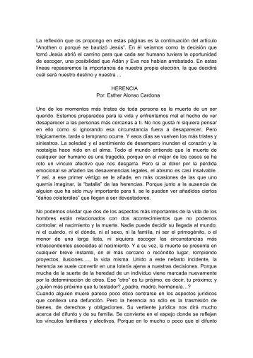 Por: Esther Alonso Cardona - Aula7Activa.org