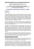 BILANCIO D'ESRCIZIO E CONSOLIDATO al 31 ... - Mariella Burani - Page 6