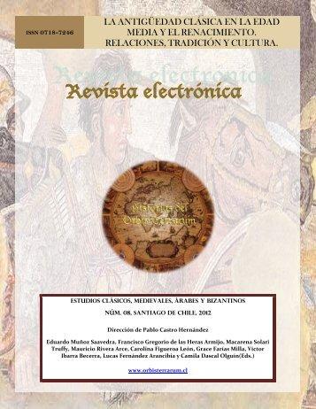 EDICIÓN ESPECIAL - ORBIS TERRARUM - Revista Electrónica ...