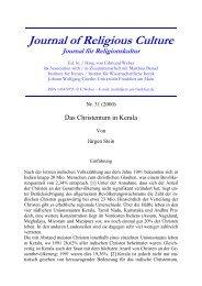 relkultur31.pdf - Goethe-Universität