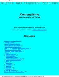 Comunalismo (Das Origens ao Século XX) - eBooksBrasil