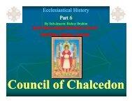 06 Unholy Council Of Chalcedon - St. Mina Coptic Orthodox Church