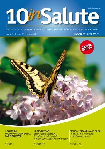 AprIle 2013 - Portale del Medico di Famiglia - ULSS n. 10