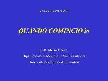 IL DIBATTITO BIOETICO Dott. Mario Picozzi Dipartimento di ...
