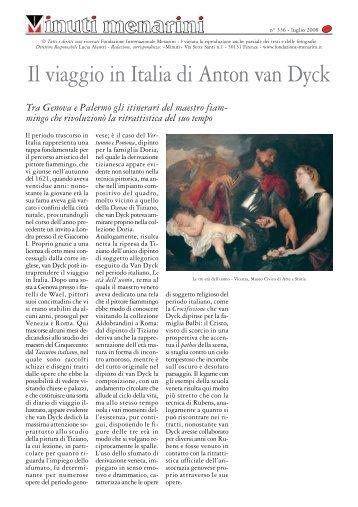 Il viaggio in Italia di Anton van Dyck - Fondazione Internazionale ...